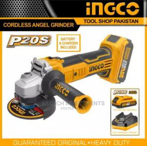 Rechargeable Angle Grinder 20V With Battery And Charger | Electrical Hand Tools for sale in Lagos State, Lagos Island (Eko)