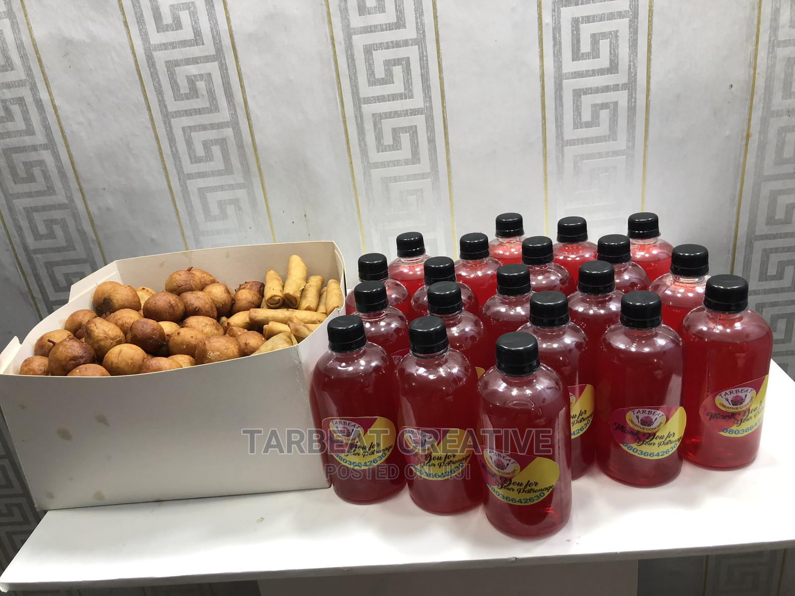 Archive: Small Chops and Chapman Drink