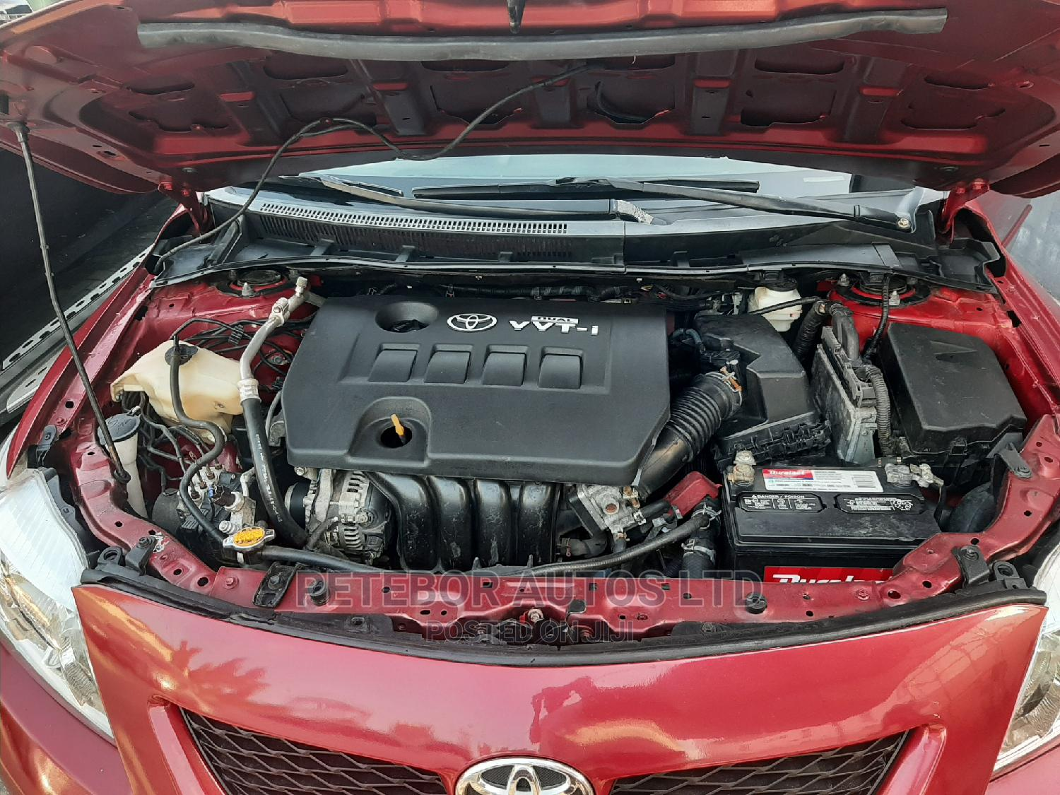 Toyota Corolla 2009 Red   Cars for sale in Ajah, Lagos State, Nigeria