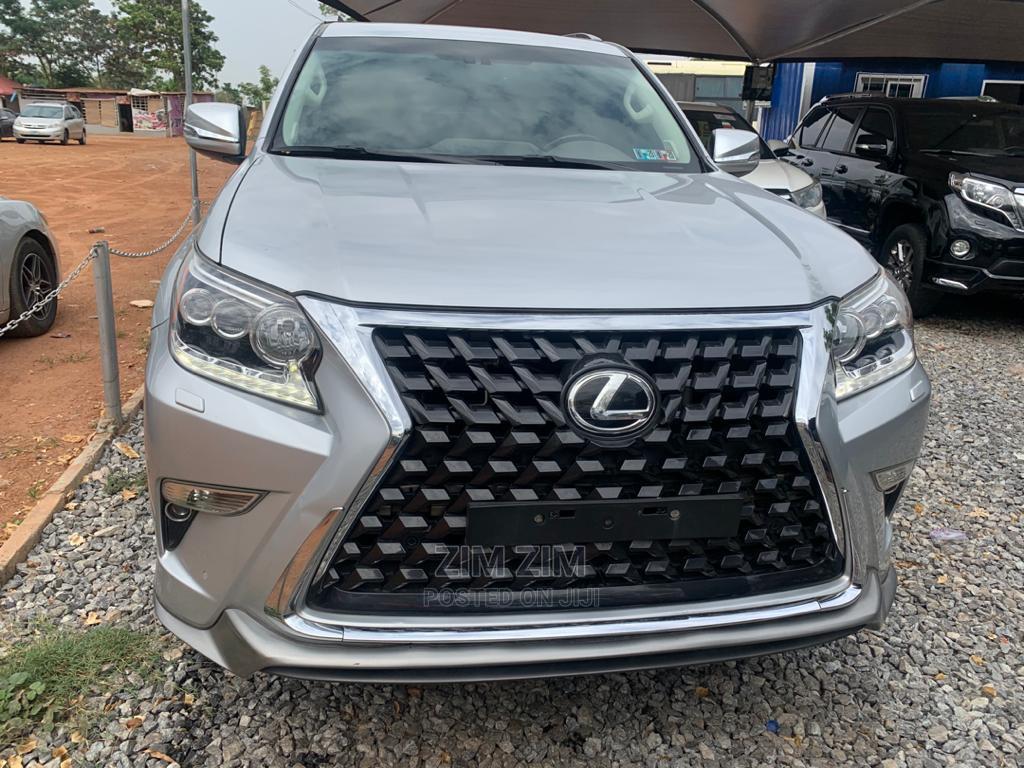 Lexus GX 2016 460 Luxury Silver