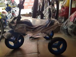 Blue Bike With Helmet   Toys for sale in Lagos State, Alimosho