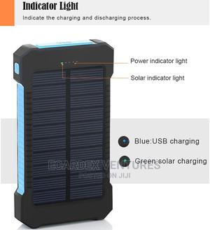 Solar Power Bank 20000 Mah   Accessories for Mobile Phones & Tablets for sale in Lagos State, Ifako-Ijaiye