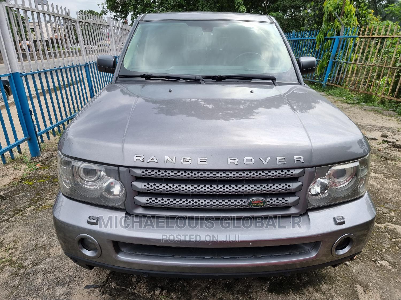 Land Rover Range Rover Sport 2008 Gray