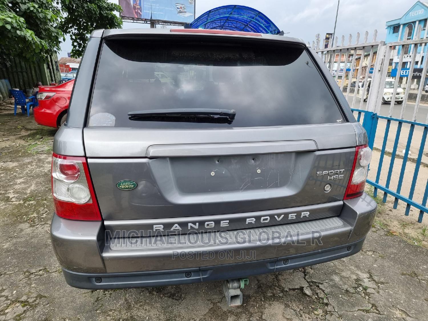 Land Rover Range Rover Sport 2008 Gray | Cars for sale in Port-Harcourt, Rivers State, Nigeria