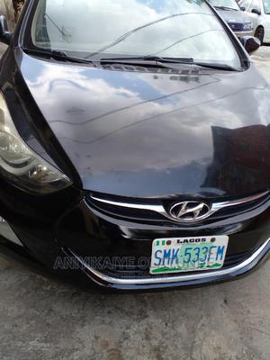 Hyundai Elantra 2013 Black   Cars for sale in Lagos State, Surulere
