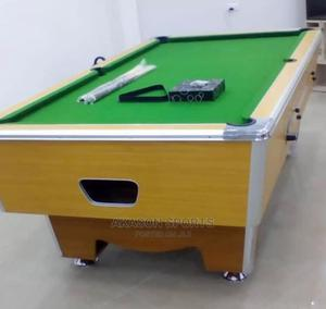 New Marble and Coin Snooker Board With Accessories Complete | Sports Equipment for sale in Lagos State, Eko Atlantic