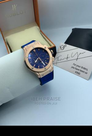 Hublot Luxury Watch With Box | Watches for sale in Lagos State, Ikotun/Igando