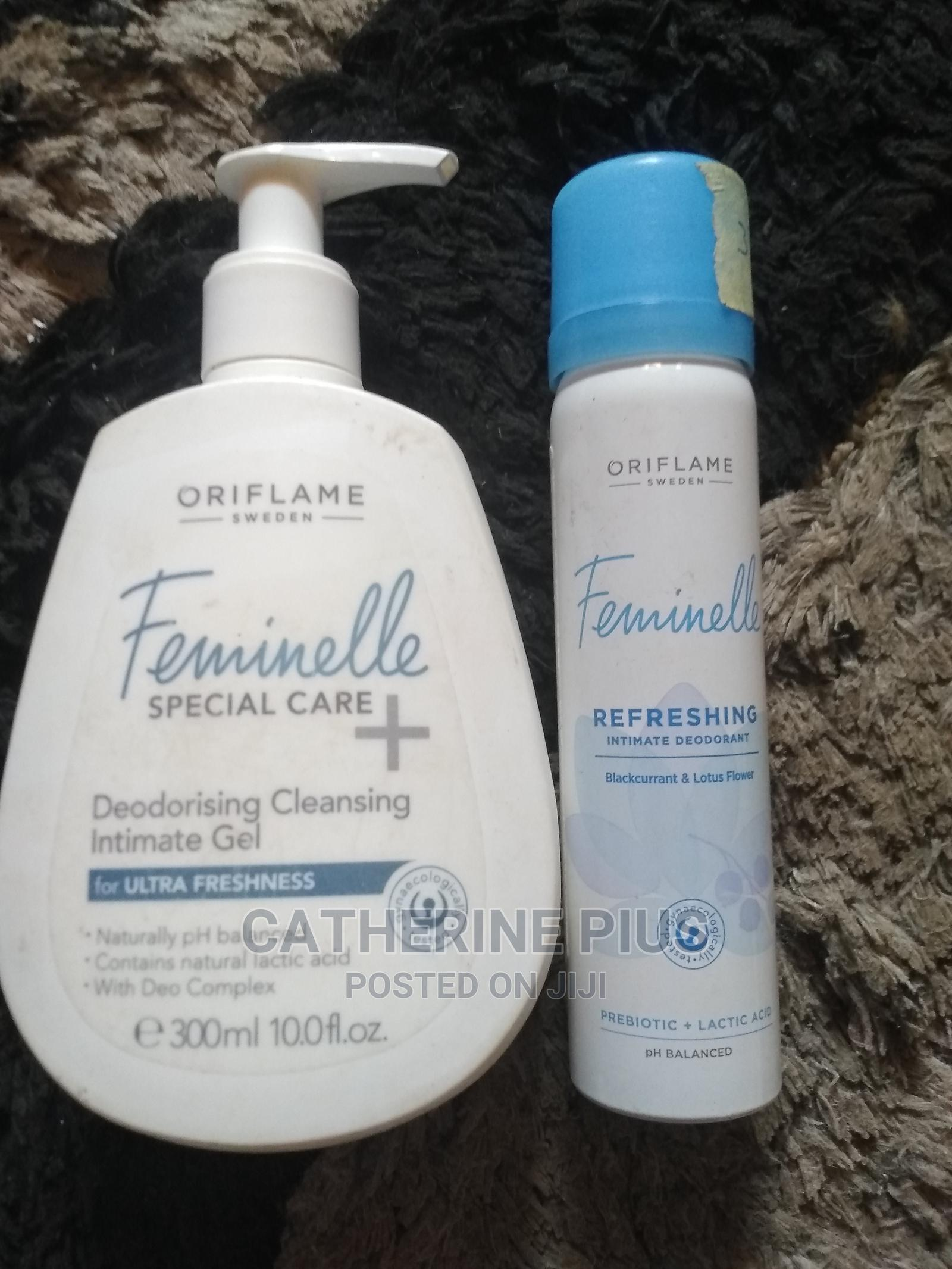 Archive: Oriflame Feminelle Wash and Refresing Feminelle Spray