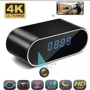 Wifi Spy Clock Camera | Security & Surveillance for sale in Abuja (FCT) State, Lokogoma