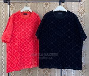 Original Designer Louis Vuitton T-Shirts Available for U Now | Clothing for sale in Lagos State, Lagos Island (Eko)