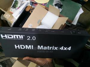 Matrix 2.0 HDMI 4X4 Switcher Splitter Bidirectional | Computer Accessories  for sale in Lagos State, Ikeja