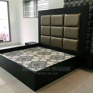 Padded Leather Bed Frames   Furniture for sale in Lagos State, Mushin