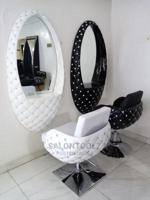 Set Of Salon Chair And Mirror   Salon Equipment for sale in Lagos State, Lagos Island (Eko)