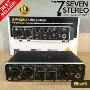 UPHORIA Umc204 Behringer Soundcard | Audio & Music Equipment for sale in Lagos State, Ikeja