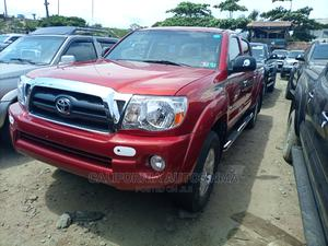 Toyota Tacoma 2007 Access Cab Red | Cars for sale in Lagos State, Amuwo-Odofin