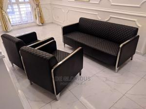 Black Sofas Chairs by 5 Seaters | Furniture for sale in Abuja (FCT) State, Wuse 2