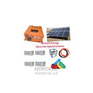 5kva 24V Inverter Solar System   Solar Energy for sale in Lagos State, Lekki
