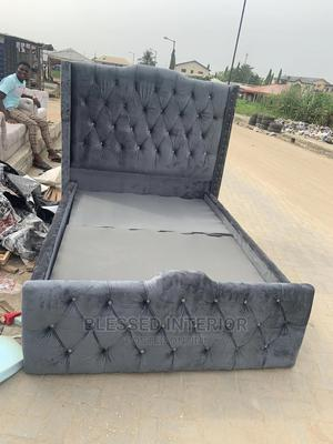 4/By 6 Upholstery Bed Frame | Furniture for sale in Lagos State, Ajah