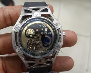 Hublot Chronograph, Genuine Leather Editiy | Watches for sale in Enugu State, Enugu
