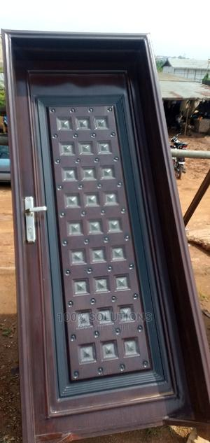 3ft by 7ft Front Doors for Sales. Strong and Long Lasting   Doors for sale in Lagos State, Alimosho
