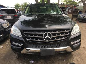 Mercedes-Benz M Class 2012 ML 350 4Matic Black   Cars for sale in Lagos State, Apapa