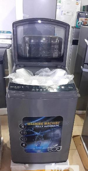 MAXI WASHING MACHINE 10KG Top Loader Automatic +Eco Friendly | Home Appliances for sale in Lagos State, Lekki