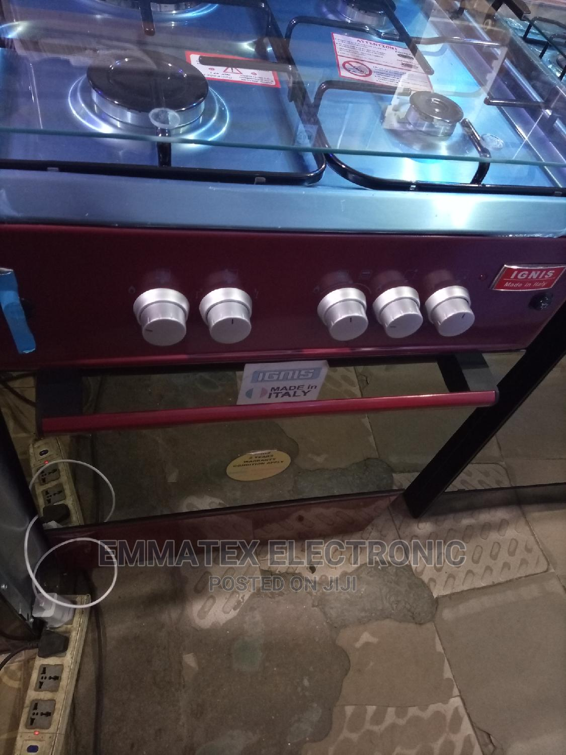 Ignis Standing Gas Cooker