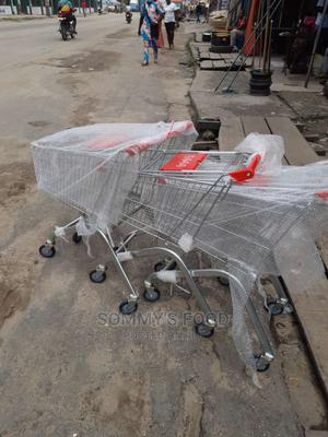 60ltrs Steel Type Supermarket Trolley   Store Equipment for sale in Lagos State, Ojo