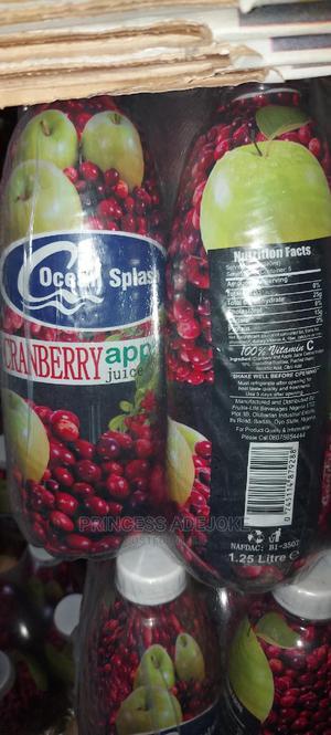 Ocean Splash Cranberry Apple Juice (1.25L) | Meals & Drinks for sale in Lagos State, Ipaja