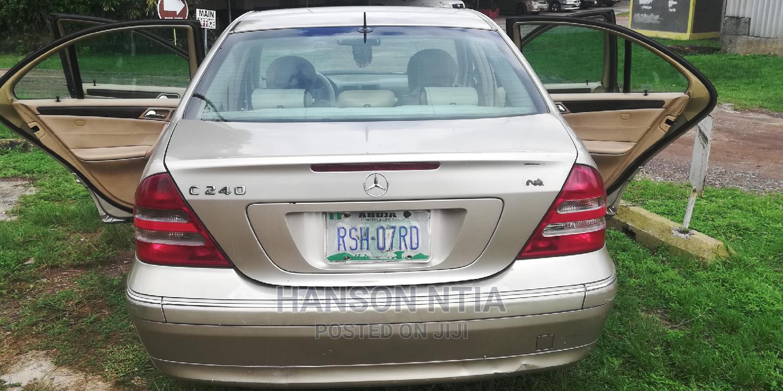 Mercedes-Benz C240 2004 Gold   Cars for sale in Obio-Akpor, Rivers State, Nigeria