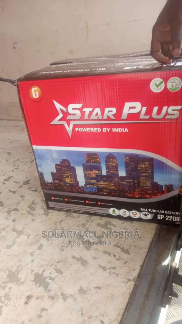 Archive: Star PLUS Premium 220ah Tubular Battery 2 Years Warranty