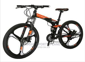 Alloy Rim Folding Mountain Bike Wit 21 Speed Full Suspension   Sports Equipment for sale in Rivers State, Port-Harcourt