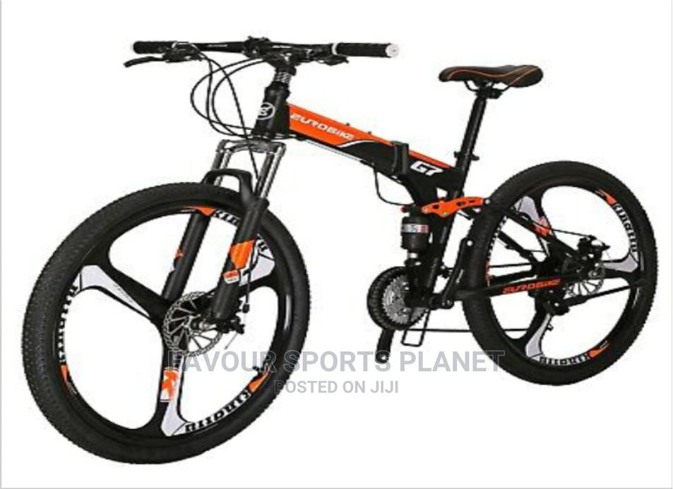 Alloy Rim Folding Mountain Bike Wit 21 Speed Full Suspension