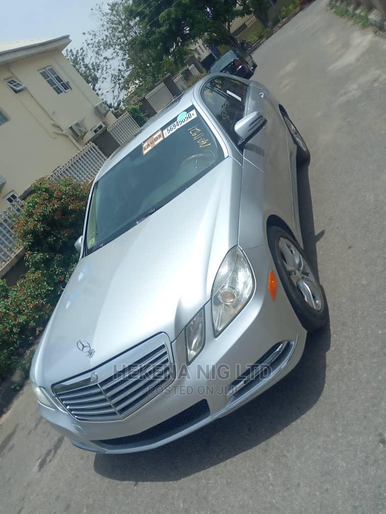 Archive: Mercedes-Benz E350 2010 Silver