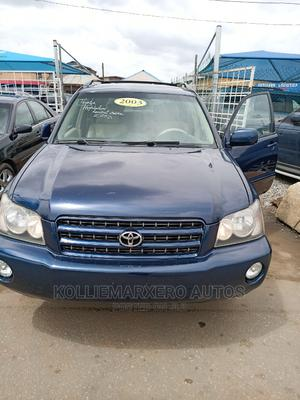 Toyota Highlander 2003 Limited V6 FWD Blue   Cars for sale in Lagos State, Abule Egba