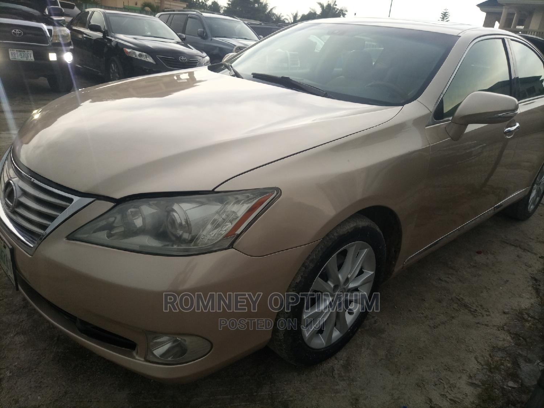 Lexus ES 2011 350 Gold