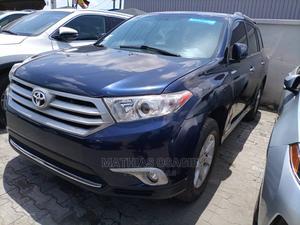 Toyota Highlander 2013 SE 3.5L 4WD Blue   Cars for sale in Lagos State, Ajah