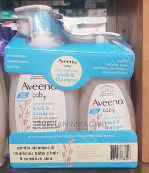 Aveeno Baby Daily Moisture Wash and Shampoo Twin Pack | Baby & Child Care for sale in Lagos State, Apapa
