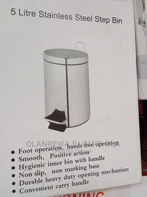Stainless Steel Pedal Bin- 5liters - Silver | Home Accessories for sale in Lagos State, Lagos Island (Eko)