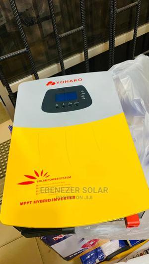 5kva Yohako Hybrid Solar Inverter 24v   Solar Energy for sale in Lagos State, Ojo
