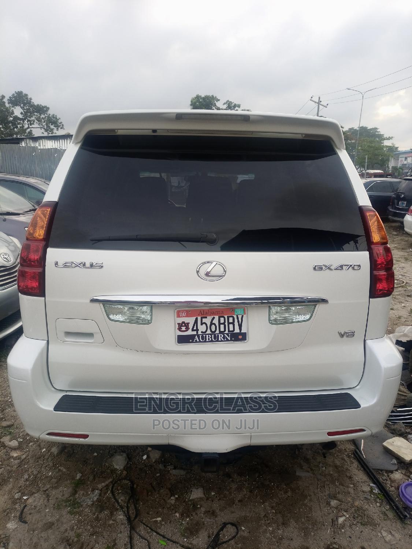 Lexus GX 2004 White   Cars for sale in Amuwo-Odofin, Lagos State, Nigeria
