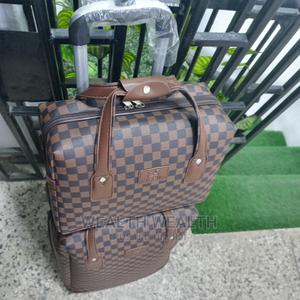 Executive Travelling Leather Luggage Bag   Bags for sale in Lagos State, Ikeja