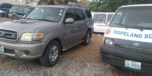 Toyota Sequoia 2002 Gray   Cars for sale in Abuja (FCT) State, Kubwa