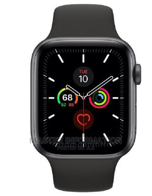 Apple Watch Series 5 44mm Gps +Cellular Black Stainless Stee | Smart Watches & Trackers for sale in Lagos State, Ikeja