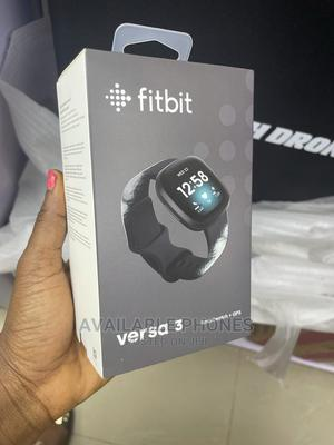 Fitbit Versa 3 Smartwatch + GPS   Smart Watches & Trackers for sale in Lagos State, Ikeja