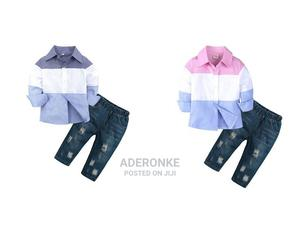 Boys Colorblock 2 Piece Set   Children's Clothing for sale in Lagos State, Ikeja