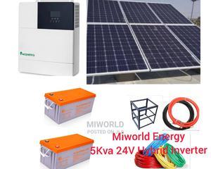 5kva 24V Hybrid Inverter System   Solar Energy for sale in Lagos State, Lekki