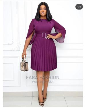 Female Chiffon Pleat Dress | Clothing for sale in Lagos State, Ikeja