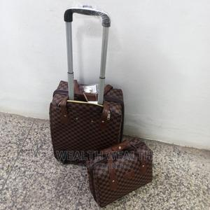 Executive Leather Luggage Bag 2 in 1 for Sale in Ikeja   Bags for sale in Lagos State, Ikeja