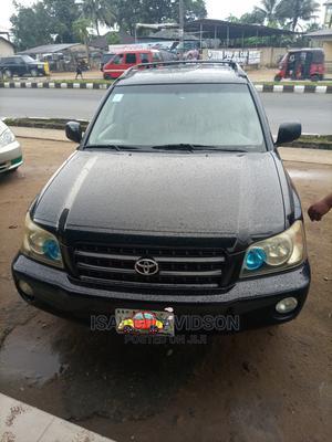 Toyota Highlander 2004 Black   Cars for sale in Akwa Ibom State, Uyo